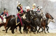 Reenactment of Battle Berezina