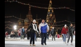 Ice rinks open in Moscow