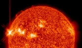 Sun 'flips upside down' while reversing magnetic poles