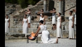 Sochi 2014 Flame lit in Olympia kicking off record-breaking torch relay